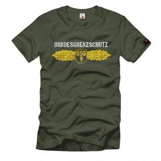 Grenzschutzgruppe 9 Bundesgrenzschutz Polizei Bgs Uniform Grenze T Shirt #1464
