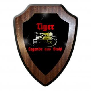 Tiger Legende aus Stahl Panzerkampfwagen Militär Wappenschild #19916