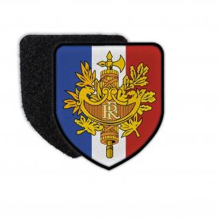 Patch République francaise Wappen Frankreich Abzeichen Lektorenbündel #32904