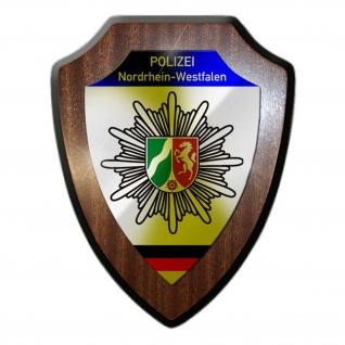 Wappenschild Polizei Nordrhein-Westfalen_Wappen Abzeichen #23074