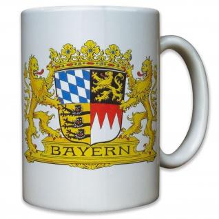 Bayern Freistaat Preußen Staat Wappen Abzeichen Emblem Deutschland -Tasse #9519