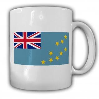 Tasse Tuvalu Fahne Flagge Kaffee Becher #13958