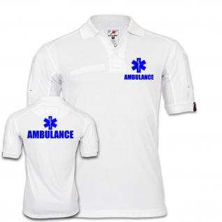 Tactical Polo Ambulance Krankenwagen Lebensretter Rettungsdienst Feuerwehr #25365