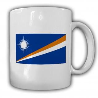 Republik Marshallinseln Fahne Flagge Inselstaat Kaffee Becher Tasse #13744