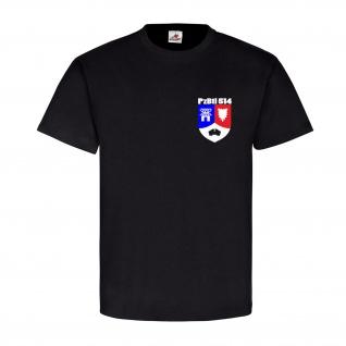 Bundeswehr Wappen Abzeichen Pzbtl 514 Panzerbataillon 514 Einheit T Shirt #4920