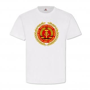 NVA Nationale Volksarmee DDR Wappen Abzeichen Emblem Deutschland- T Shirt #2091