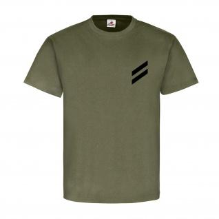 Obergefreiter Dienstgrad Bundeswehr BW Abzeichen Schulterklappe - T Shirt #15872