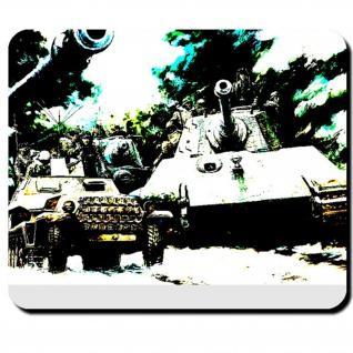 Ardennen Offensive Königstiger Tiger 2 Panzerkampwagen 7 Battle - Mauspad #7949