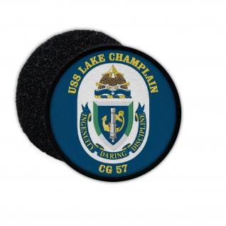 Patch USS Lake Champlain CG-57 Ticonderoga-Class US Navy USA Amerika #33969