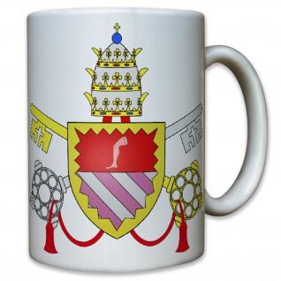 Papst Johannes XXIII Vater Geistiger Oberhaupt Schlüssel - Tasse Kaffee #10769