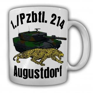 Tasse 1 Pzbtl 214 Augustdorf Tiger Panzer Heer Bundeswehr Deutschland Bund#24868
