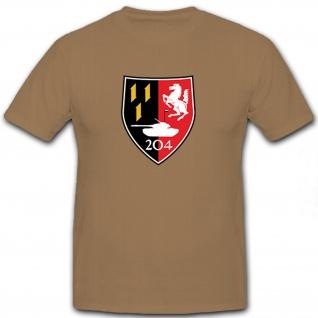 PzBtl 204 Panzerbataillon Panzer Bataillon Bundeswehr Bund Bw - T Shirt #12160
