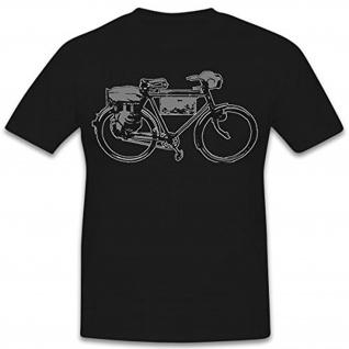 Wh Truppenrad Fahrrad Soldat Wk Deutschland Militär- T Shirt #9110