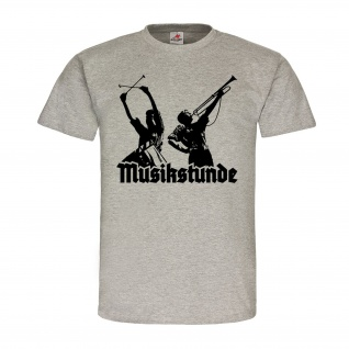 Musikstunde Spielmannzug Trommel Fanfare Landsknecht Jugend T Shirt #19881