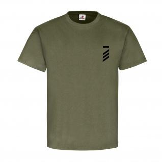 Hauptgefreiter UA Dienstgrad Bundeswehr Abzeichen Schulterklappe T Shirt #15882