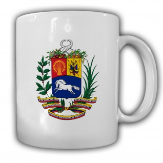 Tasse Venezuela Wappen Emblem Kaffee Becher #14019