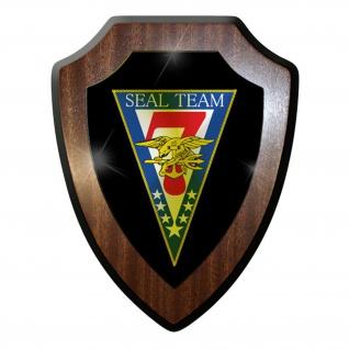 Wappenschild / Wandschild -SEAL Team 7 USA US Navy Amerika Streitkräfte #9856