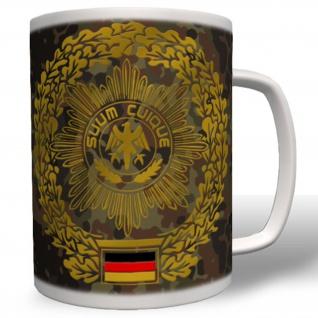 Barettabzeichen Ausbildung Wappen Emblem Einheit Tasse Becher Kaffee #1951