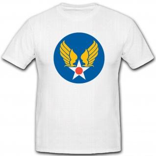 US Army Air Corps Luftwaffe Heer Amerika Streitkräfte Militär T Shirt #2208