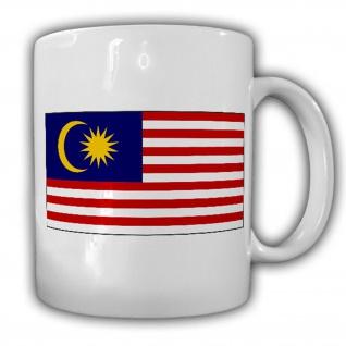 Malaysia Fahne Flagge Südostasien Halbinsel Kaffee Tasse #13734