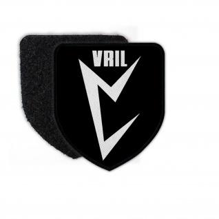 Patch VRIL Gesellschaft Wappen Blitz Geheim Bund Ufo Haunebu Okkult #23848