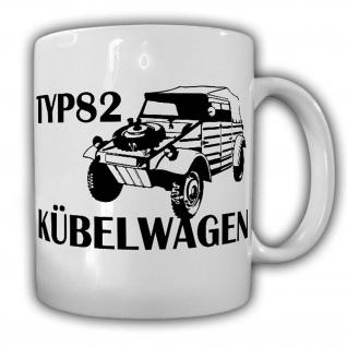 Tasse Typ82 Kübelwagen Kübel Kdf Wagen Auto Oldtimer 1942 Kaffee Becher #24352
