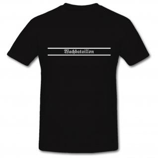 Wachbataillon Bundeswehr Einheit Wache Wachsoldat - T Shirt #1120