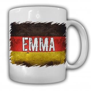 Tasse Emma Fahne Flagge Deutschland Kaffebecher Eigentum#22169