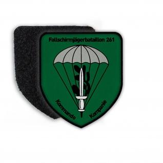 Patch Klett Flausch 5 FschJgBtl 261 Fallschirmjäger Lebach Bundeswehr #22470