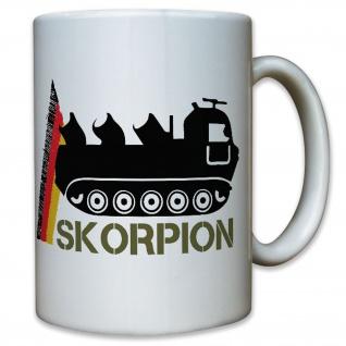 Skorpion Minenwerfer Minenwurfsystem Pionier Kompanie Deutschland - Tasse #10135