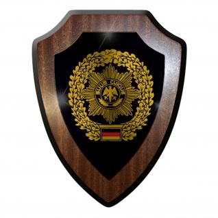 Wappenschild / Wandschild -Feldjäger Militärpolizei Mp Deutschland Militär #7415