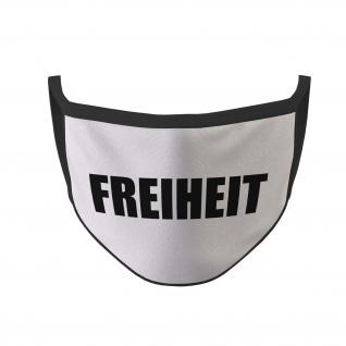 Mund Maske Freiheit Statement Fun Spruch Provokation Humor#35631