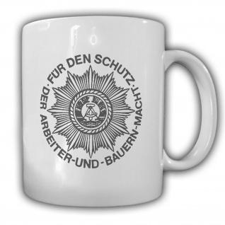 Tasse Deutsche Volkspolizei DDR VOPO Demokratische Republik NVA Grenze #23747