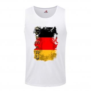 Germany Germania German Deutschland BRD Fahne Flagge Flag - Tanktop / #5277