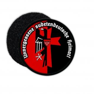 Patch Unvergessene sudetendeutsche Heimat Sudetenland Wappen #33176