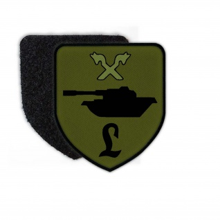 Patch PzLehrBtl 93 Tarn Munster Bundeswehr Aufnäher Wappen Abzeichen Leo #24448