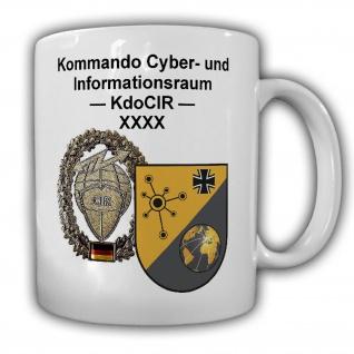 Tasse Kommando Cyber- und Informationsraum KdoCIR Bundeswehr Wappen#22123