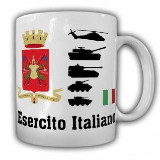 Esercito Italiano italienisches Heer Italien Armee Militär Wappen Tasse #18229