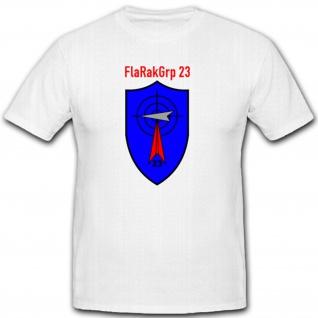 FlaRakGrp 23 Flugabwehrraketengruppe Luftwaffe Deutsch Bundeswehr INgolstadt Nürnberg Flugabwehr Abzeichen Wappen Emblem Reservist - T Shirt #1554