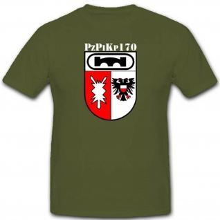 Wappen Militär Bundeswehr Einheit Pzpikp Panzer Pionier Kompanie T Shirt #2639