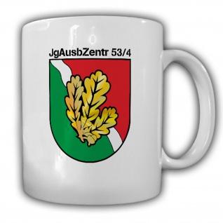 JgAusbZentr 53-4 Jägerausbildungszentrum BW Jäger Wappen Abzeichen Tasse #15429