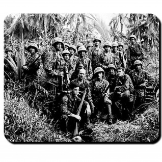 GI jungle fighter Amerika USA US Army Tarn Uniform Tarnuniform - Mauspad #8288