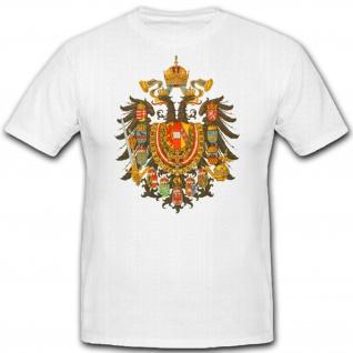 Wappen Kaisertum Osterreich 1867 Emblem Abzeichen Erbmonarchie Erzherzog #1579