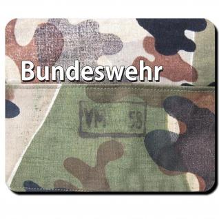 Bundeswehr Bund Bw Amöbentarn Muster Uniform Tarnmuster 50er - Mauspad #11093
