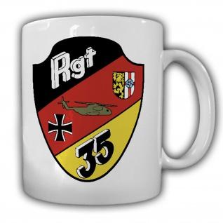 Heeresfliegerregiment 35 Mendig Einheit Militär Flugplatz - Tasse #19509