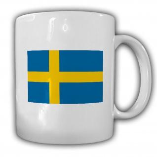 Königreich Schweden Fahne Flagge Kaffee Becher Tasse #13886