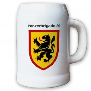 Krug / Bierkrug 0, 5l -16.Bierkrug Panzerbrigade 29 PzBrig Brigade Einheit #12980