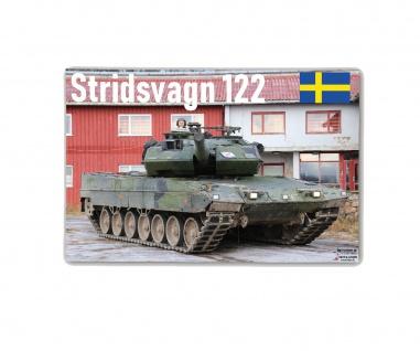 Poster M&N Pictures Stridsvagn 122 Schweden Panzer Plakat Strv ab30x20cm#30287