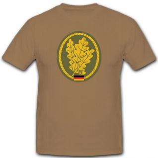 Jägertruppe Bundeswehr Barettabzeichen Mützenabzeichen - T Shirt #6935