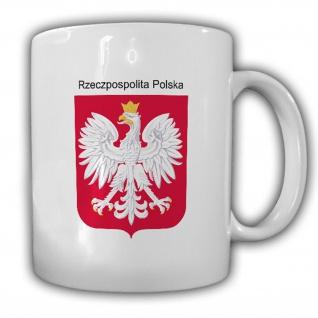 Republik Polen Wappen Emblem Kaffee Becher Tasse #13864